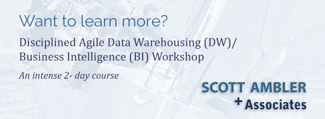 Agile Best Practices for Data Warehousing (DW)/Business Intelligence